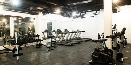 Gym på hotell Rawi Warin på Koh Lanta, Thailand.