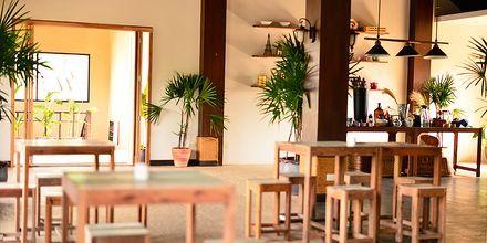 Restaurang på hotell Rawi Warin på Koh Lanta, Thailand.