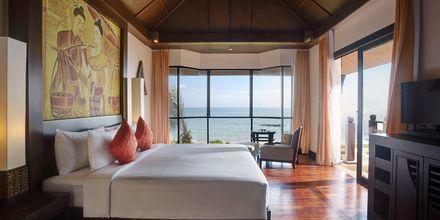 Seafront villa på hotell Rawi Warin i Koh Lanta, Thailand.