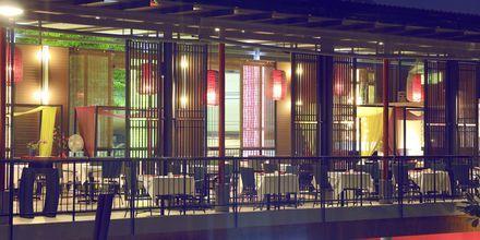 Restaurangen på Red Ginger Chic Resort på Krabi, Thailand.