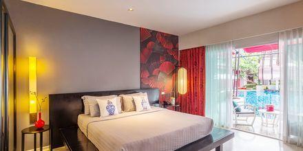 Dubbelrum, poolrum på Red Ginger Chic Resort på Krabi, Thailand.