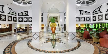 Lobby på hotell Rembrandt i Bangkok, Thailand.