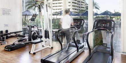 Gym på hotell Rembrandt i Bangkok, Thailand.