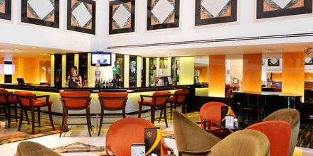Lobbybaren på hotell Rembrandt i Bangkok, Thailand.