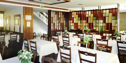 Restaurang på hotell Residencial Greco i Funchal på Madeira.