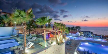 Vattenparken på hotell Rethymno Mare Resort, Grekland.
