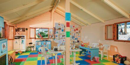Barnklubb på hotell Rethymno Mare Resort, Grekland.