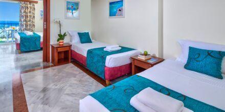Familjerum för 4 personer på hotell Rethymno Mare Resort, Grekland.