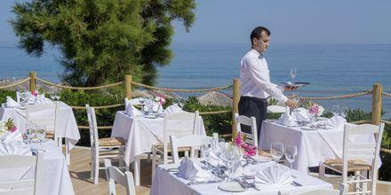 Restaurang på hotell Rethymno Palace i Rethymnon på Kreta, Grekland.