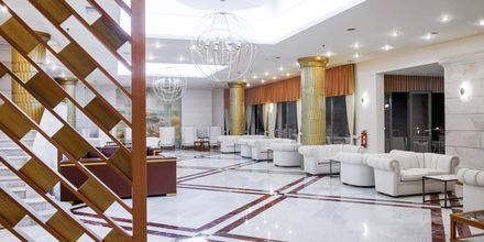 Lobby på hotell Rethymno Palace i Rethymnon på Kreta, Grekland.
