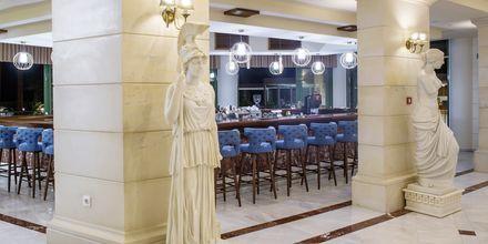 Bar på hotell Rethymno Palace i Rethymnon på Kreta, Grekland.