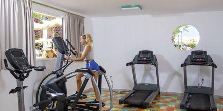 Gym på hotell Rethymno Palace i Rethymnon på Kreta, Grekland.