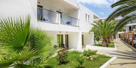 Hotell Rethymno Residence vid Rethymnon kust på Kreta, Grekland.