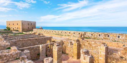Det gamla fortet i Rethymnon stad bjuder på vackra utsikter över havet.