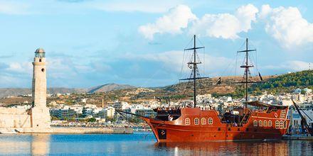 Piren i Rethymnon stad på Kreta.