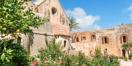 Klostret Arkadi i närheten av Rethymnon stad.
