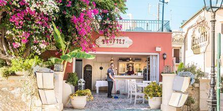 Rethymnon stad på Kreta.