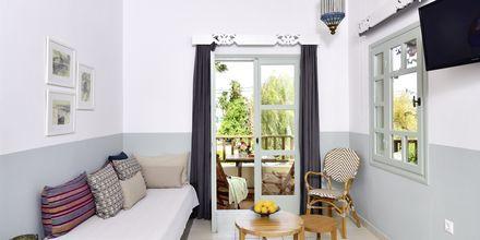 Trerumslägenhet på hotell Revekka i Platanias på Kreta.
