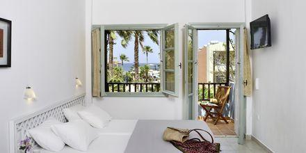 Enrumslägenhet på hotell i Platanias, Kreta.