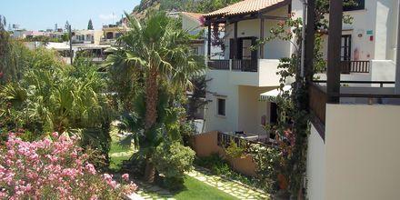 Hotell Revekka i Platanias på Kreta.