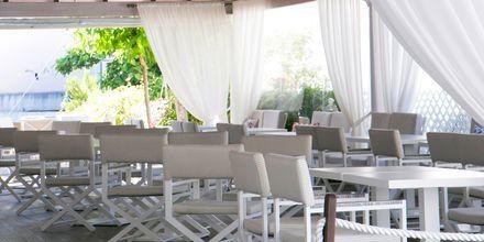 Snackbaren på hotell Rezi på Parga, Grekland.