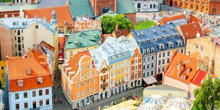 Riga från ovan.