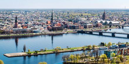 Riga i Lettland.