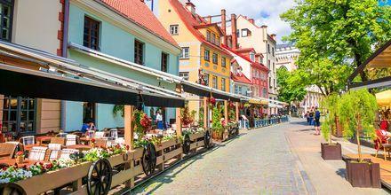 Riga - en av Baltikums hippaste städer.