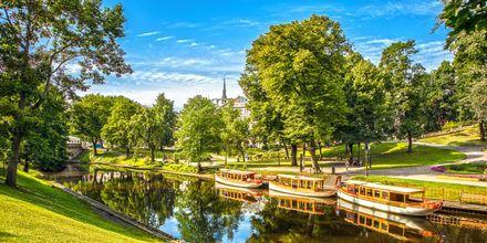 Kanal i Riga.