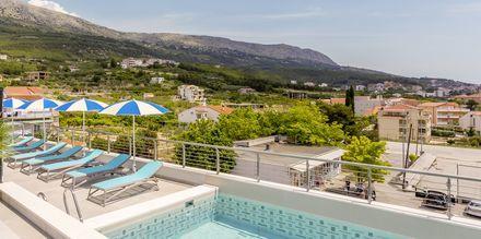 Poolen på hotell Ringo i Podstrana, Kroatien.