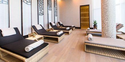 Relax-avdelning på Ritz-Carlton Dohas spa.