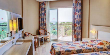 Dubbelrum på hotell Riviera i Alanya, Turkiet.