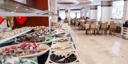 Restaurang på hotell Riviera i Alanya, Turkiet.