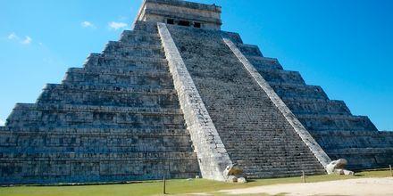 Chichén Itzà på Yucatánhalvön i Mexiko.