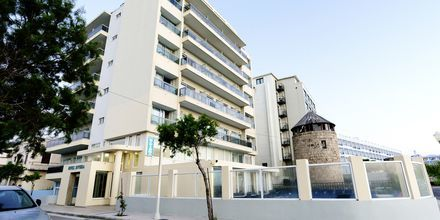 Hotell Riviera i Rhodos stad, Grekland.