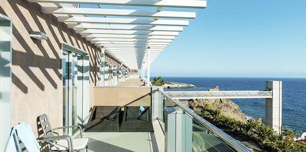 Balkong på hotell Riviera Vista på Gran Canaria, Kanarieöarna.