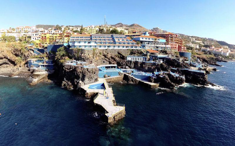 Rocamar Lido Resorts i Funchal, Madeira.
