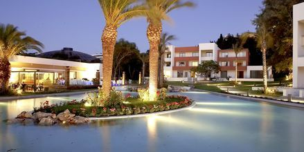 Hotell Rodos Palace i Ixia på Rhodos, Grekland.