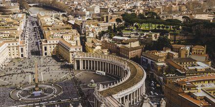 Vatikanstaten från ovan.