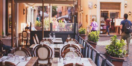 Rom är en restaurangtät stad med många Michelin-prisade restauranger.