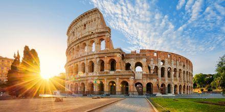 Colosseum i Rom, Italien, bara en av många sevärdheter i staden.