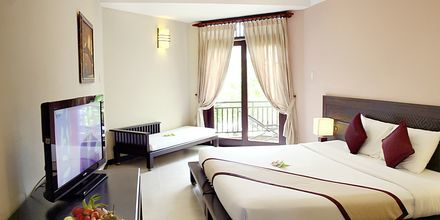 Deluxerum på hotell Romana Beach Resort i Phan Thiet, Vietnam.