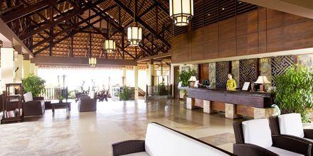 Lobby på hotell Romana Beach Resort i Phan Thiet, Vietnam.