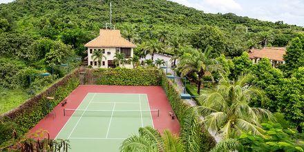 Tennis på hotell Romana Beach Resort i Phan Thiet, Vietnam.