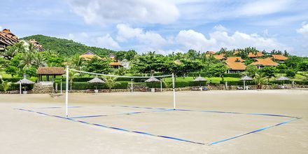 Beach volley på hotell Romana Beach Resort i Phan Thiet, Vietnam.