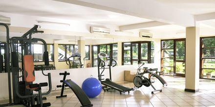 Gym på hotell Romana Beach Resort i Phan Thiet, Vietnam.