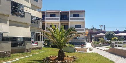 Hotell Rose i Kato Stalos på Kreta, Grekland.