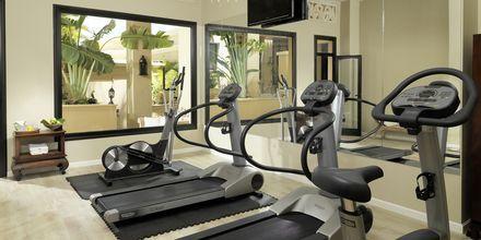 Gymmet på hotell Royal Garden Villas i Playa de las Americas på Teneriffa, Spanien.