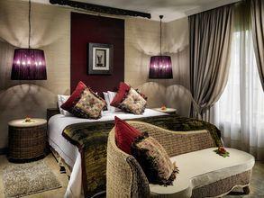 Fyrarumslägenhet på hotell Royal Garden Villas i Playa de la Americas på Teneriffa, Spanien.