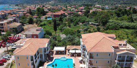 Hotell Royal Nidri på Lefkas, Grekland.